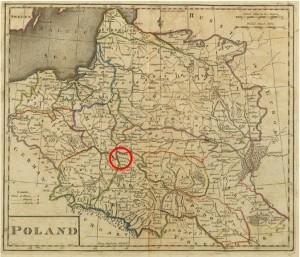 Lubliner Siedungsgebiet Karte 1