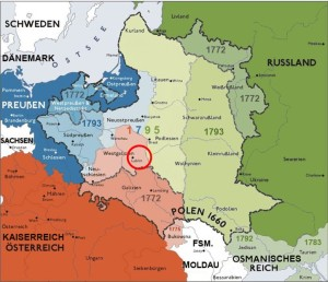Lubliner Siedungsgebiet Karte 2