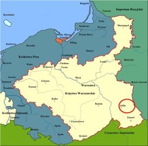 Lubliner Siedungsgebiet Karte 3