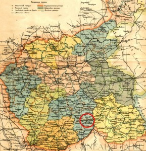 Lubliner Siedungsgebiet Karte 5