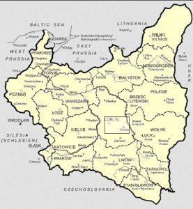 Lubliner Siedungsgebiet Karte 6