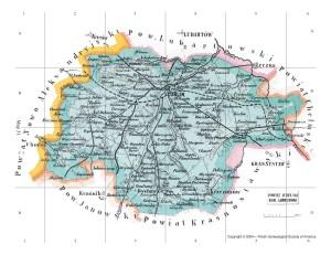 Lubliner Siedungsgebiet Karte 7