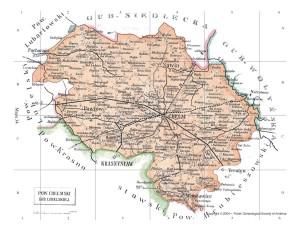 Lubliner Siedungsgebiet Karte 8